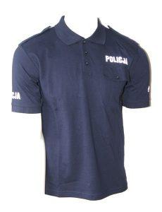 koszulka polo policja