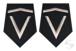 patki OSP pomocnik dowódcy plutonu